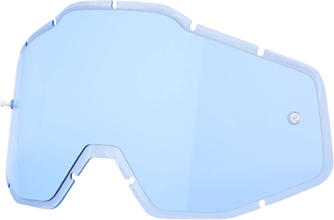 100% Injected Replacement Lens w/Posts for Racecraft/Accuri/Strata Goggles