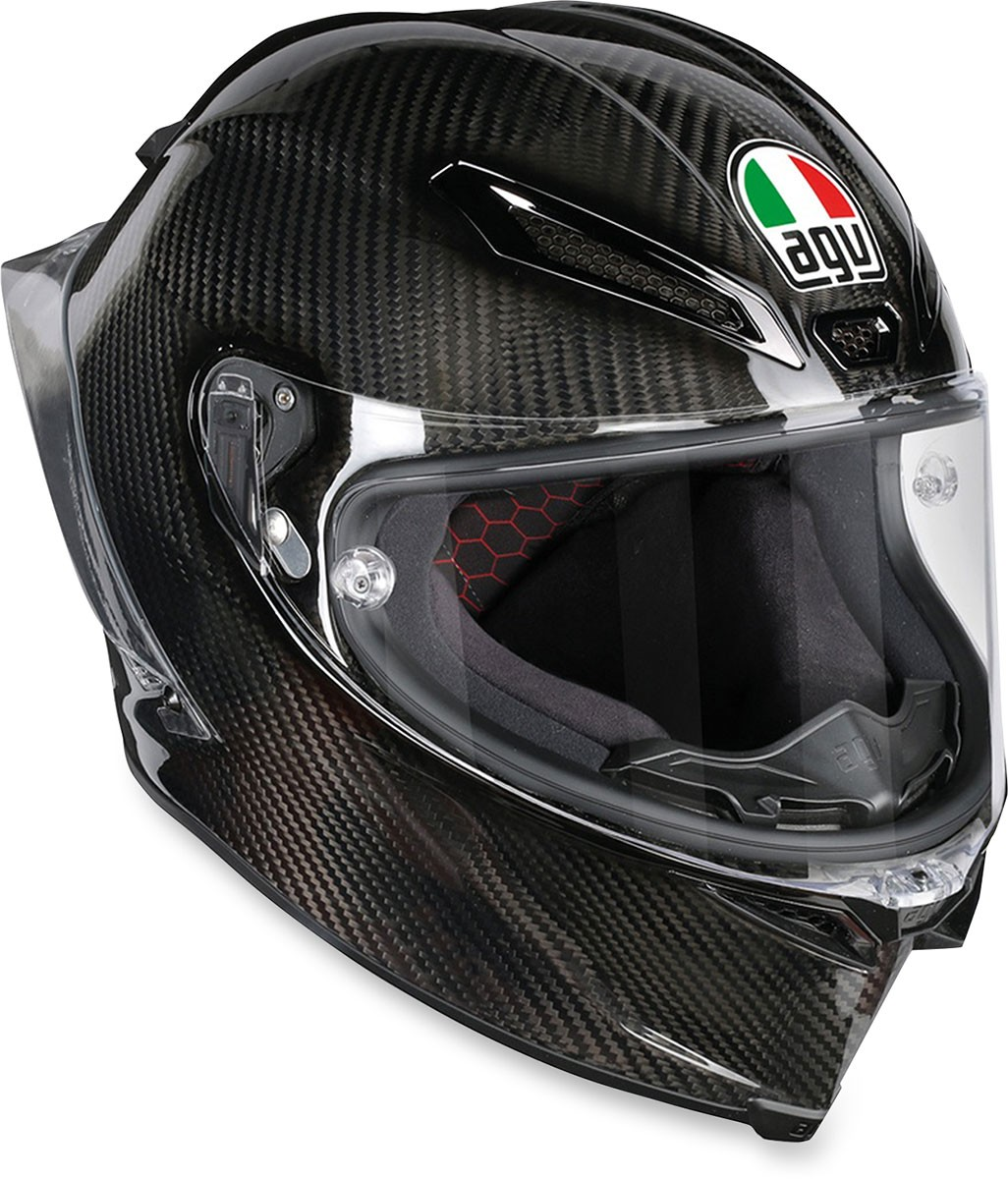 agv pista gp r carbon full face motorcycle helmet gloss carbon fiber. Black Bedroom Furniture Sets. Home Design Ideas