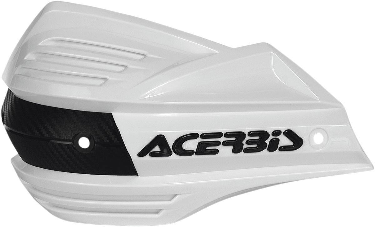 ACERBIS Replacement Plastic Shield for X-Factor Handguards (White)