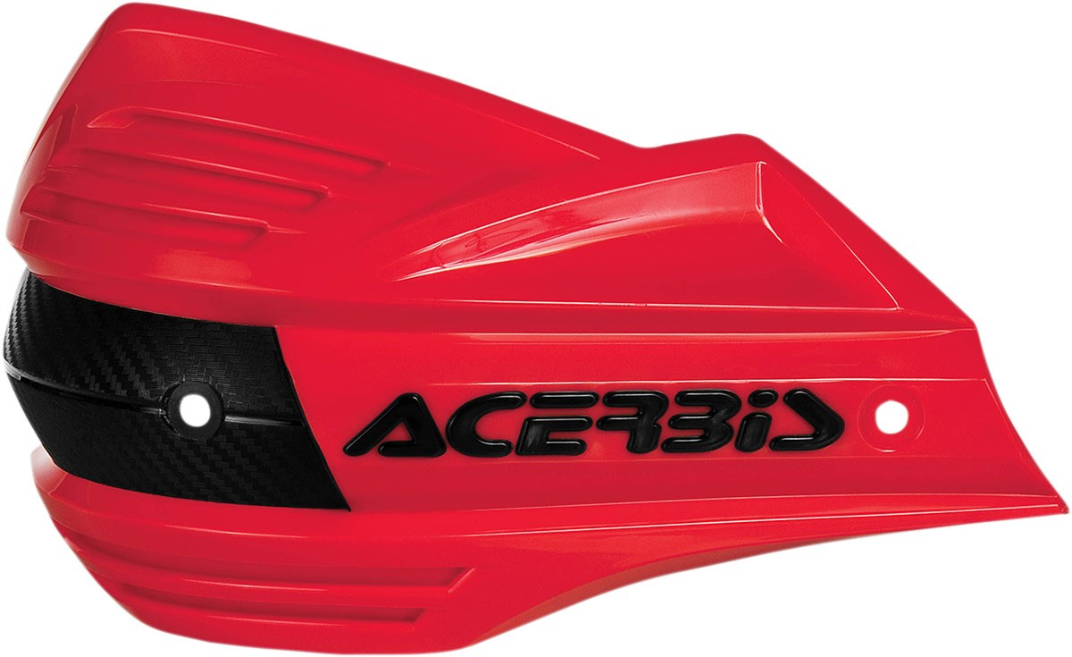 ACERBIS Replacement Plastic Shield for X-Factor Handguards (Red)