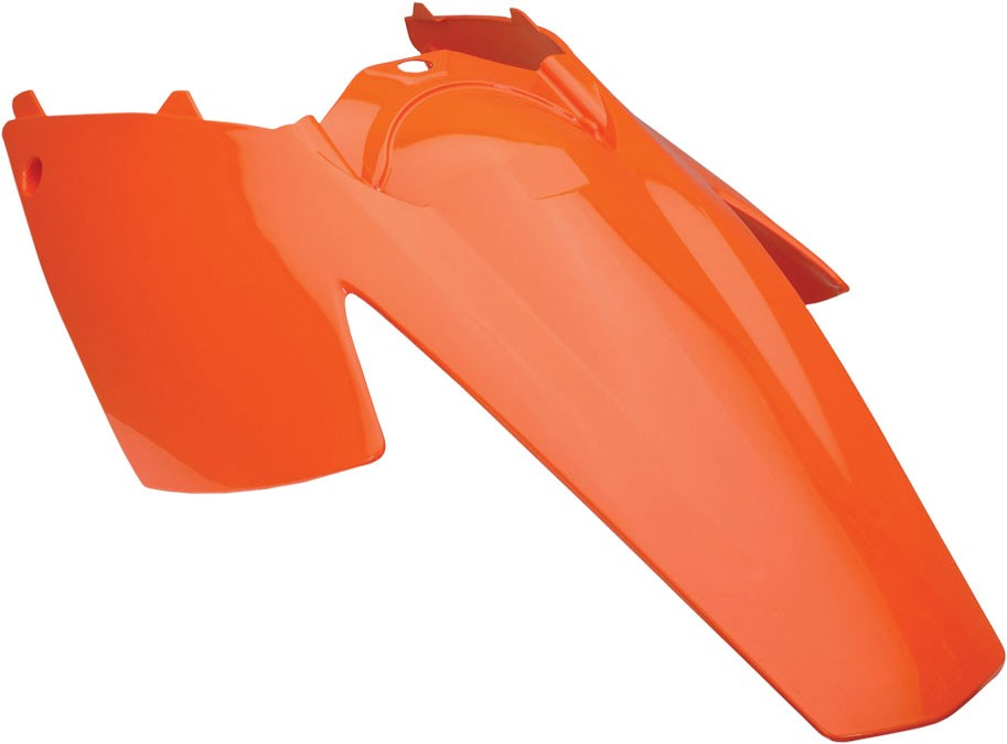 ACERBIS Rear Fender/Side Cowling w/ Tab for OEM Taillight (Orange)