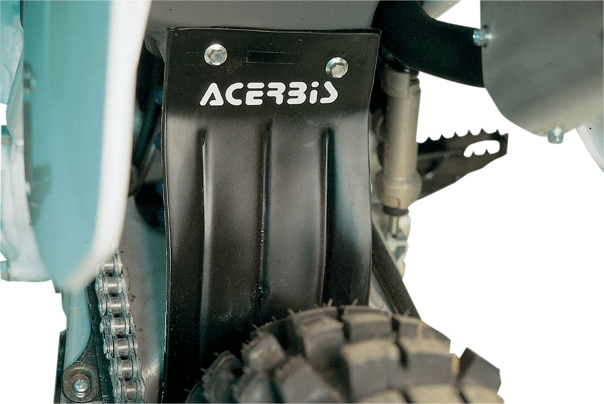 ACERBIS Airbox Mud Flap / Rear Shock Cover (Black)