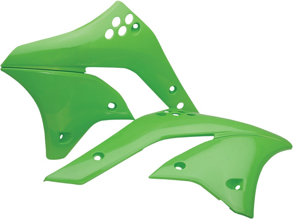 ACERBIS Radiator Shrouds/Covers (Green)