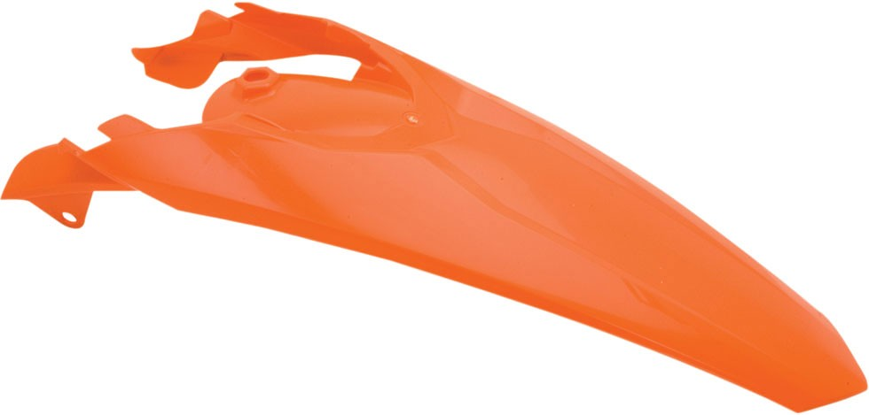 ACERBIS Rear Fender w/ Tabs for OEM Taillight (Orange)