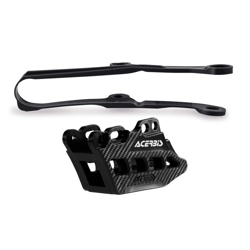 ACERBIS Chain Guide Block and Slider Kit 2.0 (Black)