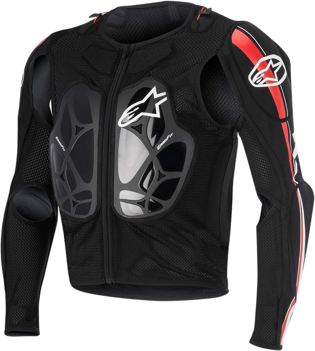 Alpinestars BIONIC PRO Protection Jacket (Black/Red)