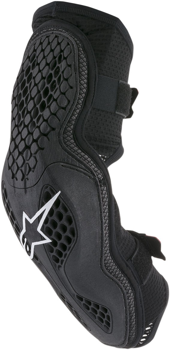 Alpinestars Sequence Elbow Protectors (Black/Red)