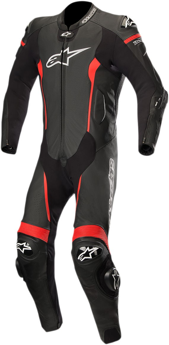 043cc1f6b79 Alpinestars MISSILE Leather Motorcycle Riding Suit Tech-Air Compatible  (Black/Red)