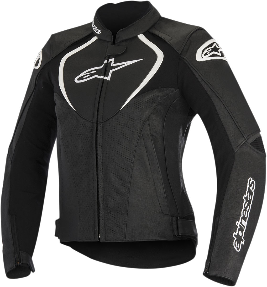 Alpinestars Stella JAWS Perforated Leather Jacket (Black)