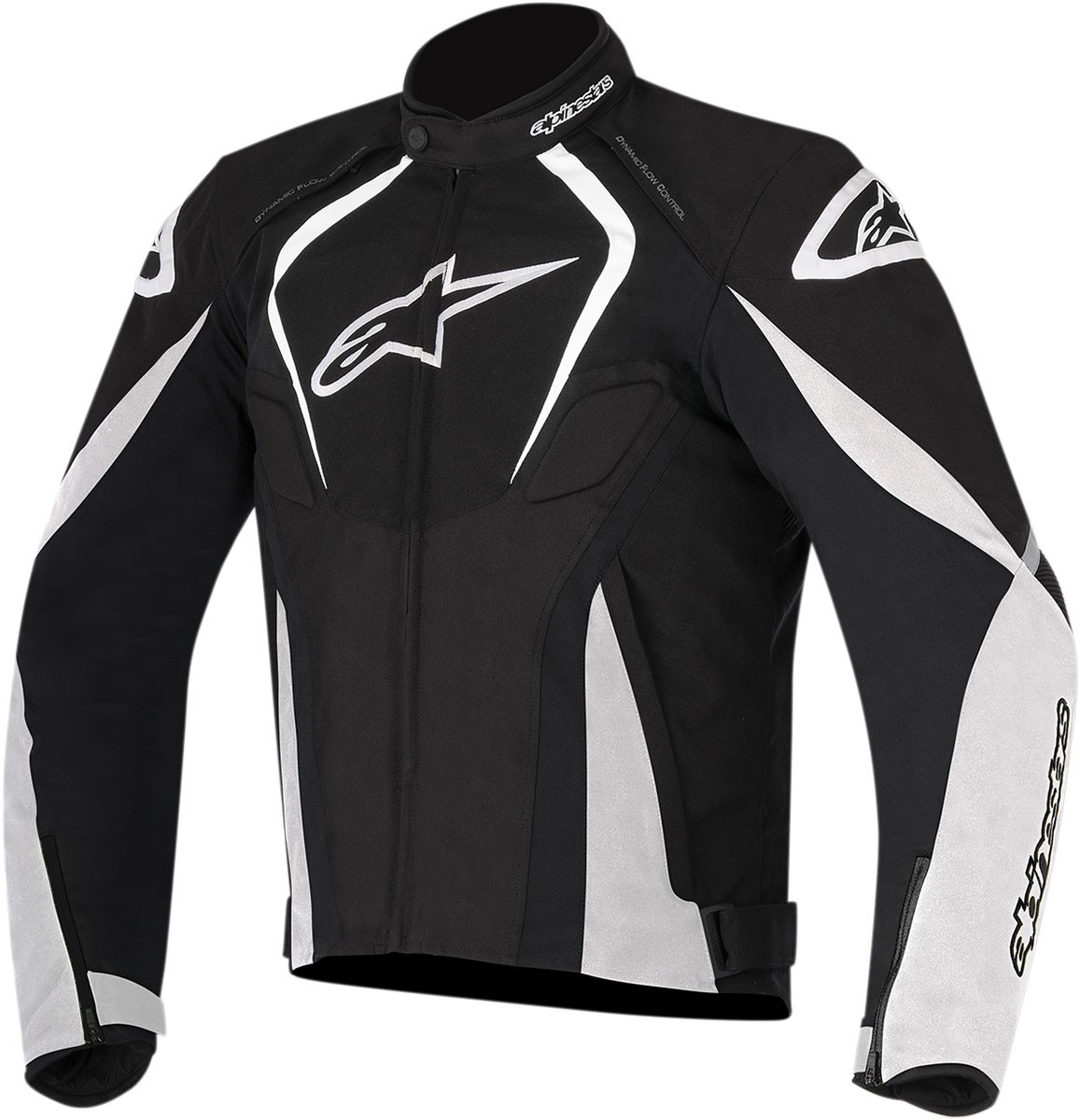 Alpinestars T-JAWS Waterproof Textile Jacket (Black/White)