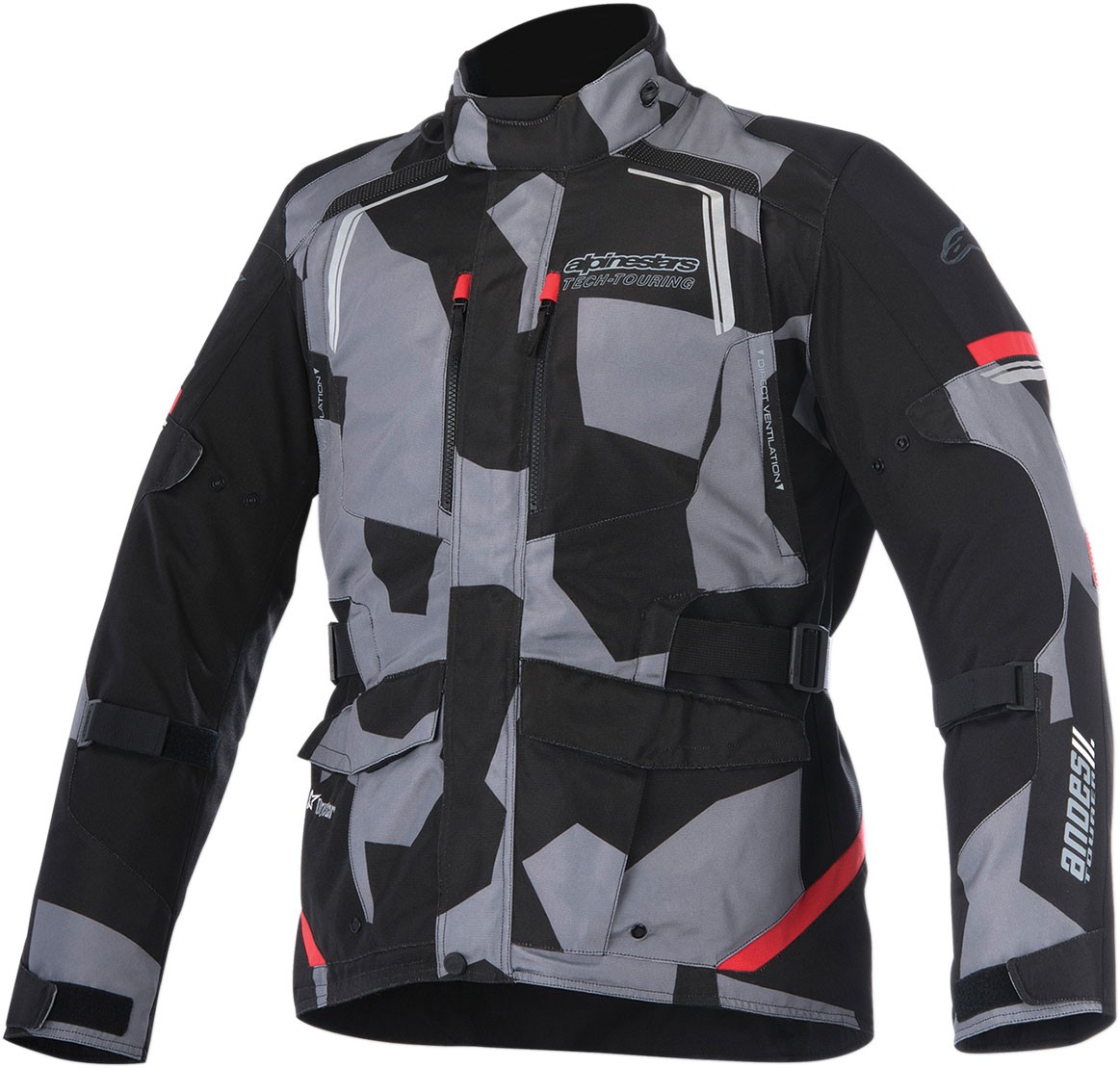 Alpinestars Motorcycle Jacket >> Alpinestars Men S Andes V2 Drystar Adventure Touring Motorcycle