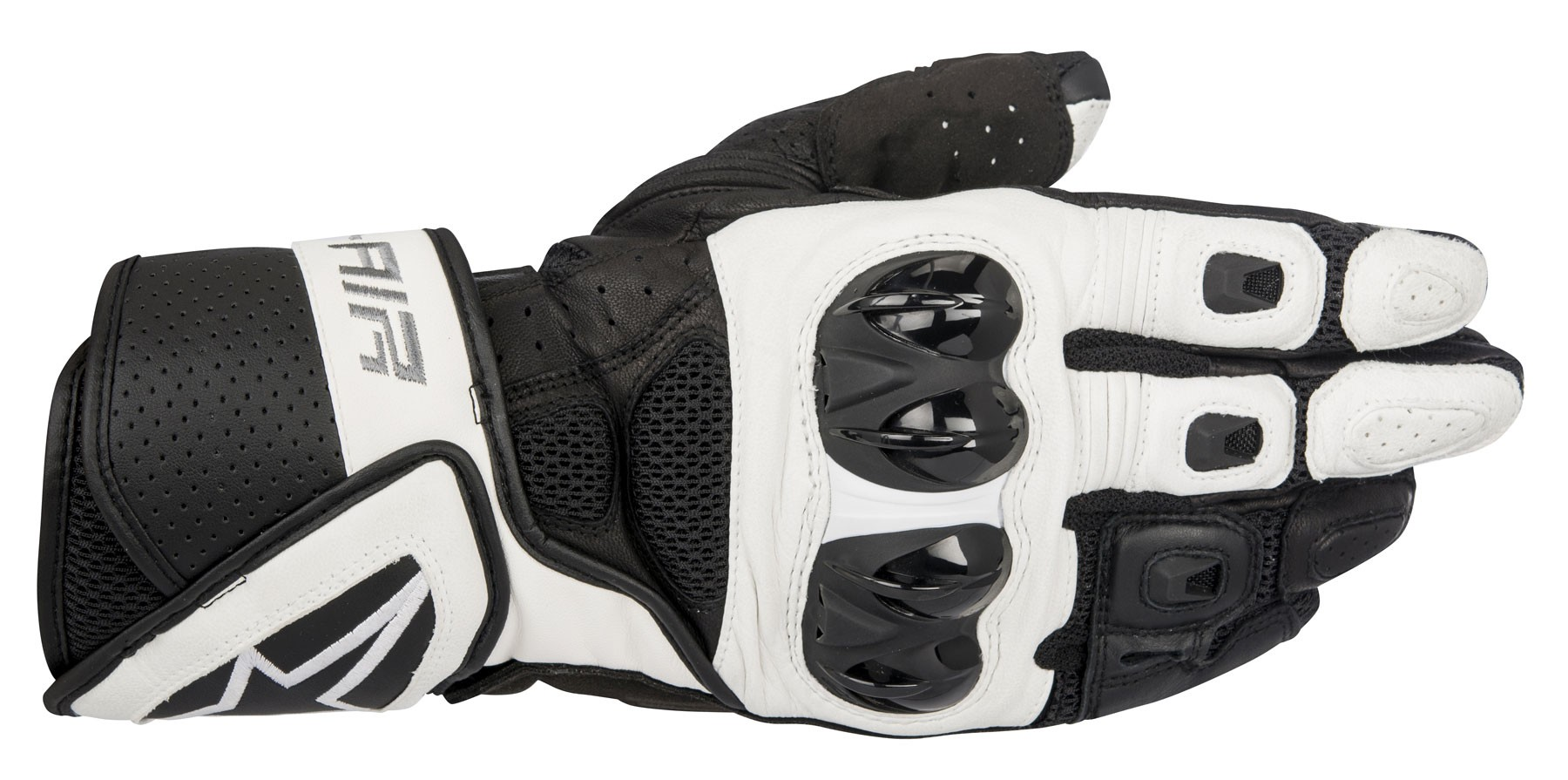 Motorcycle gloves mesh - Alpinestars 2016 Sp Air Leather Mesh Motorcycle Riding Gloves Black White
