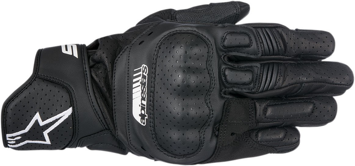 Alpinestars SP-5 Leather Gloves (Black)