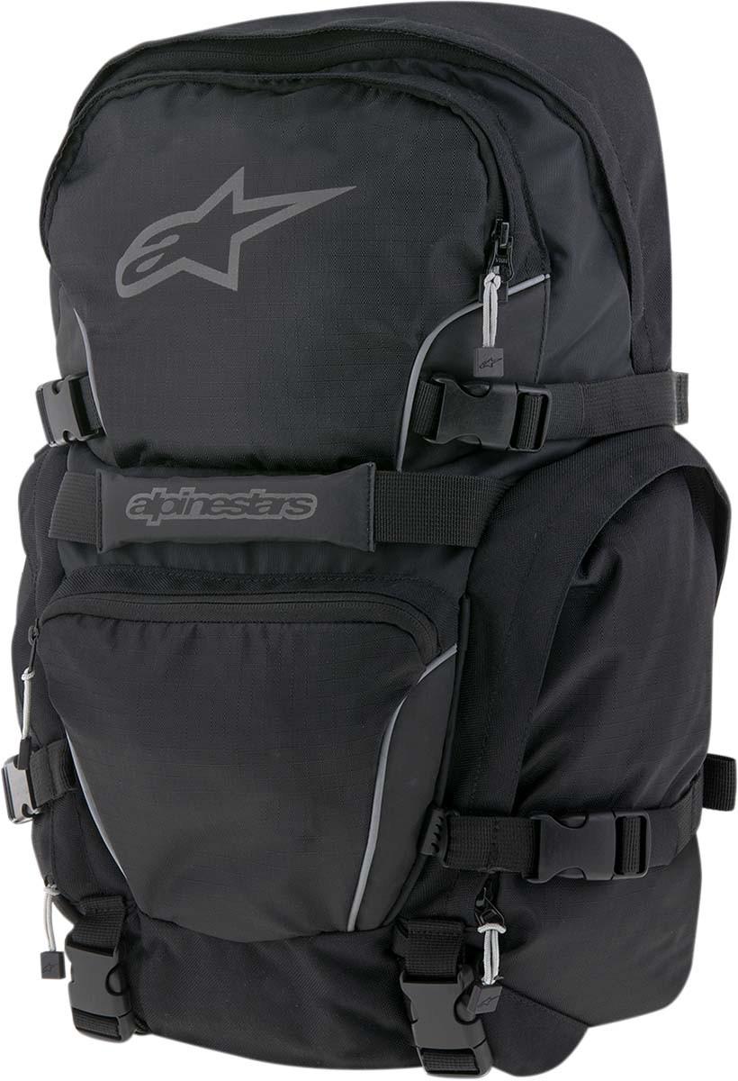 Alpinestars FORCE 25 Motorcycle Riding Backpack Gear Bag w  Helmet Carrier  (Black) f134c37ff6