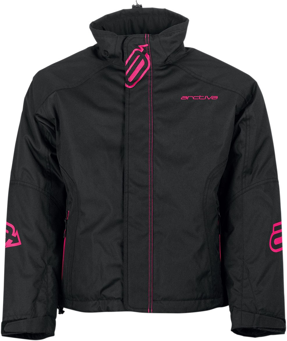 Arctiva Snow Snowmobile Women's 2018 PIVOT Insulated Jacket (Black)
