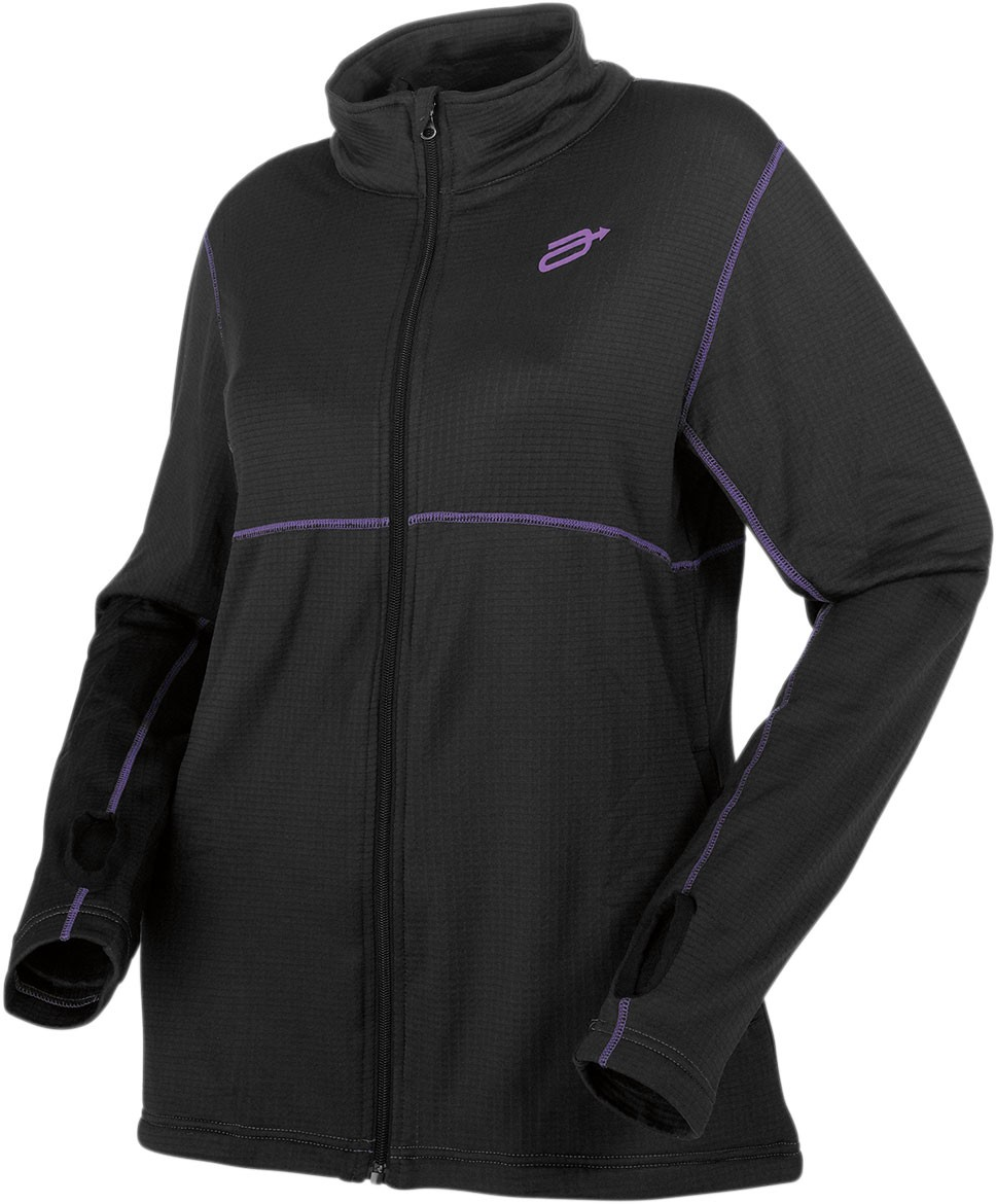 Arctiva Snow Snowmobile INSULATOR Mid-Weight Base Layer Jacket (Black)