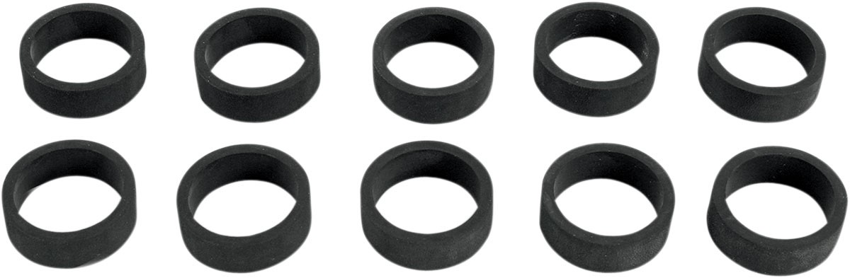 Arlen Ness - 07-110 - Billet Grip Replacement O-Ring Bands, 10pk.