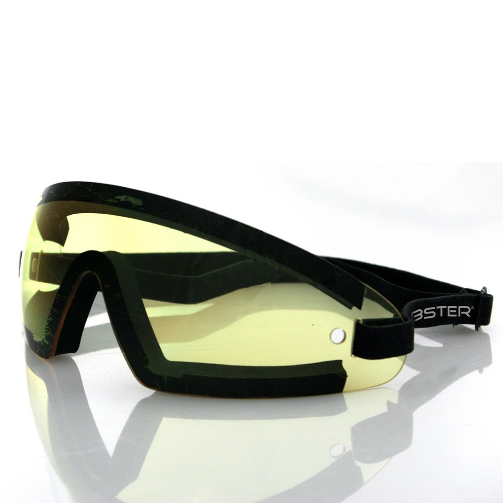 Bobster Wrap Around Goggles (Yellow Lens)