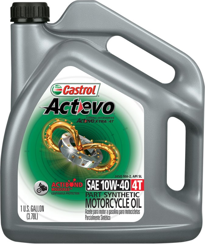Castrol Activ 4T Semi-Synthetic Engine/Motor Oil