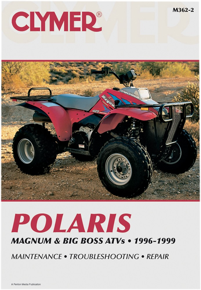 clymer repair manual for polaris magnum 425 2x4, 4x4, 6x6, big boss 500 6x6