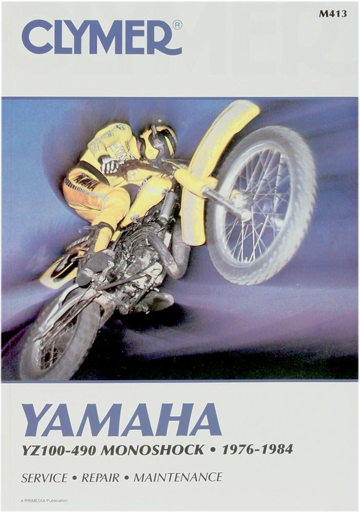 clymer repair manual for yamaha yz100, yz125, yz175, yz250, yz400, yz465,  yz490