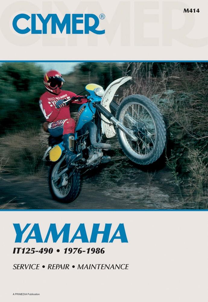Repair Manual for YAMAHA IT125 IT175 IT200 IT250 IT400 IT425 IT465 – It490 Wiring Diagram