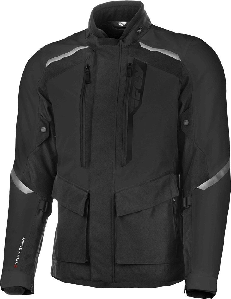 Fly Racing Terra Trek Textile Riding Jacket (Black)