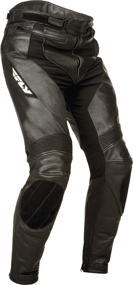 FLY Street - APEX Leather Motorcycle Riding Pants (Black)