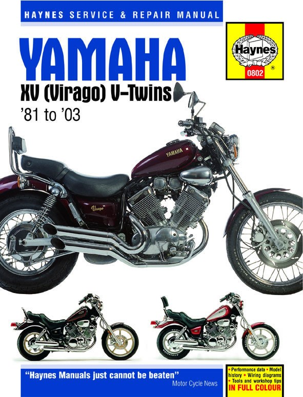 Haynes repair manual yamaha virago xv535 xv700 xv750 xv920 xv1000 haynes repair manual yamaha virago xv535 xv700 xv750 xv920 xv1000 xv1100 1981 2000 asfbconference2016 Image collections