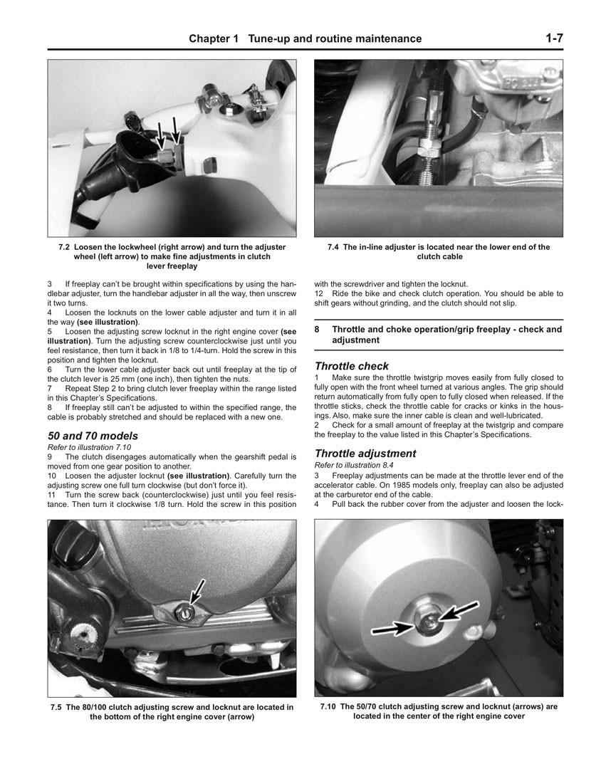 Haynes Repair Manual Honda Xr50r Xr70r Xr80r Xr100r Crf50f Wiring Diagram Crf70f Crf80f Crf100f 1985 2007