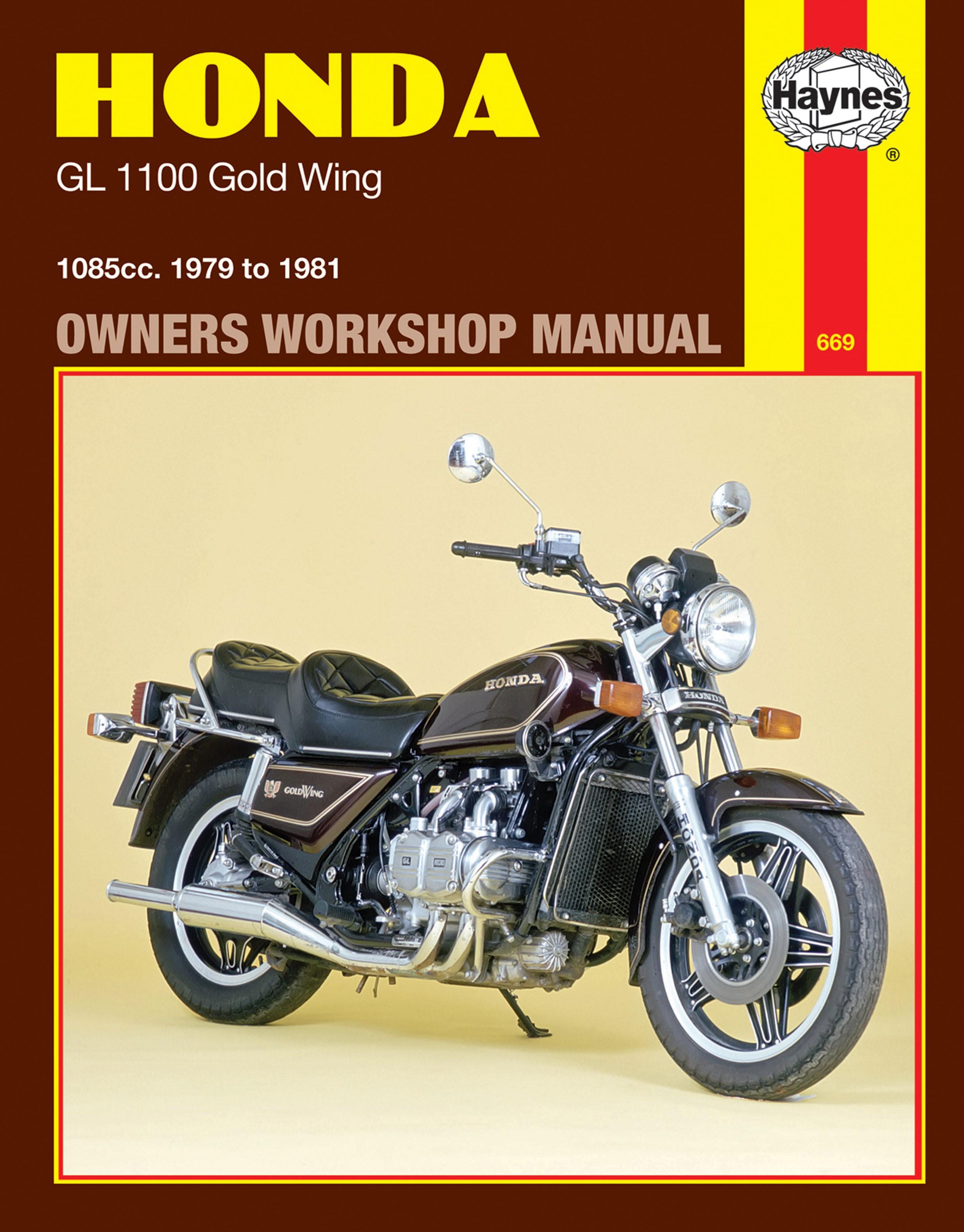 Haynes Repair Manual Honda Gold Wing Gl1100 1979 1981 Gl1800 Goldwing Seat Heat Wiring Diagram