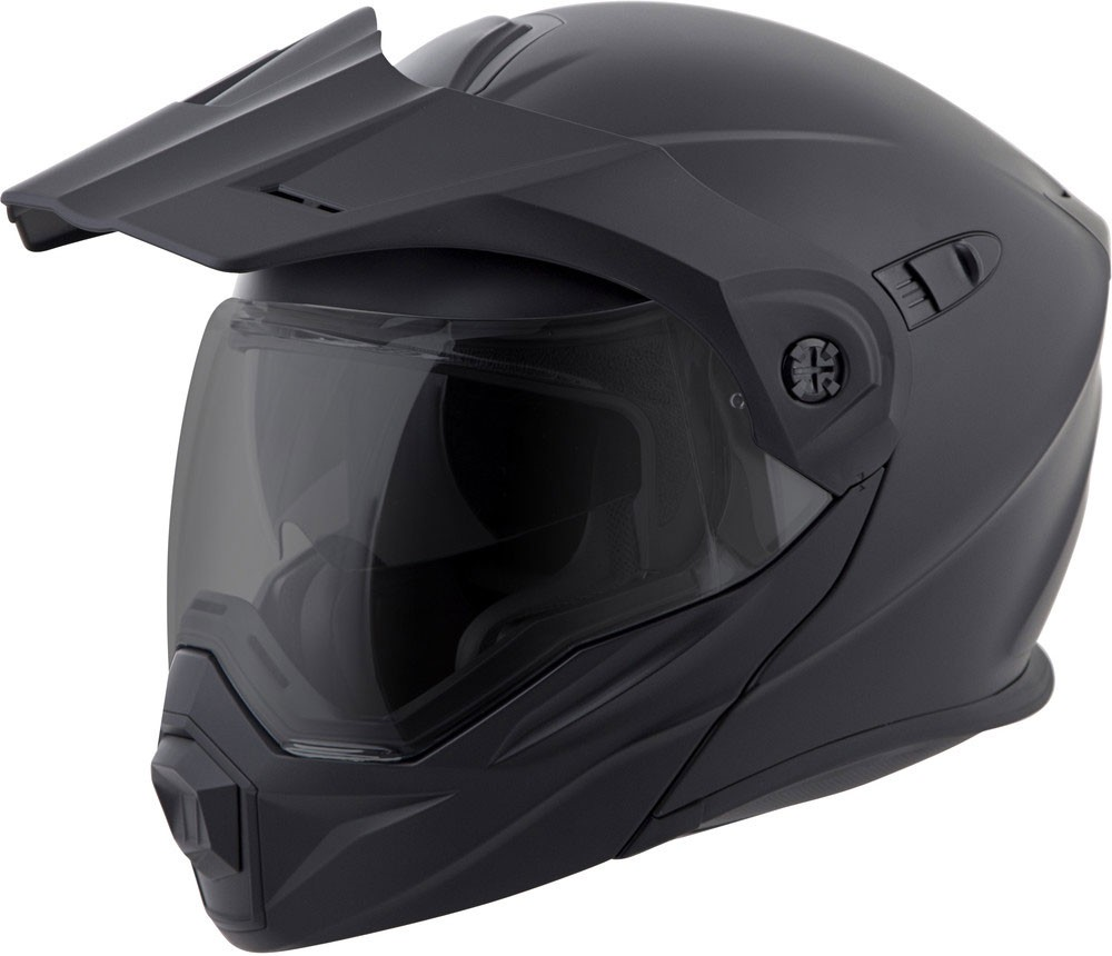 Scorpion EXO-AT950 COLD WEATHER Motorcycle Helmet w Electric Shield (Matte  Black) db468fa5c