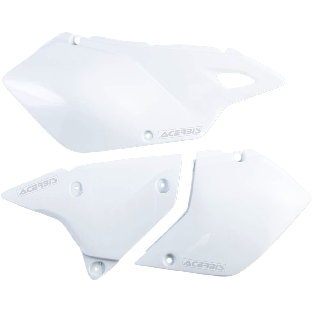 Acerbis Side Panels - DRZ - White