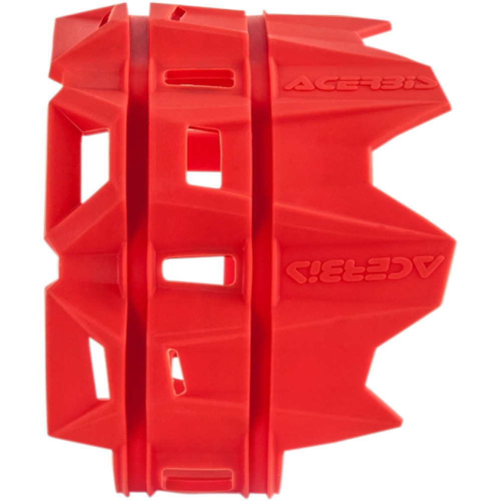 Acerbis Silencer Guard - Red