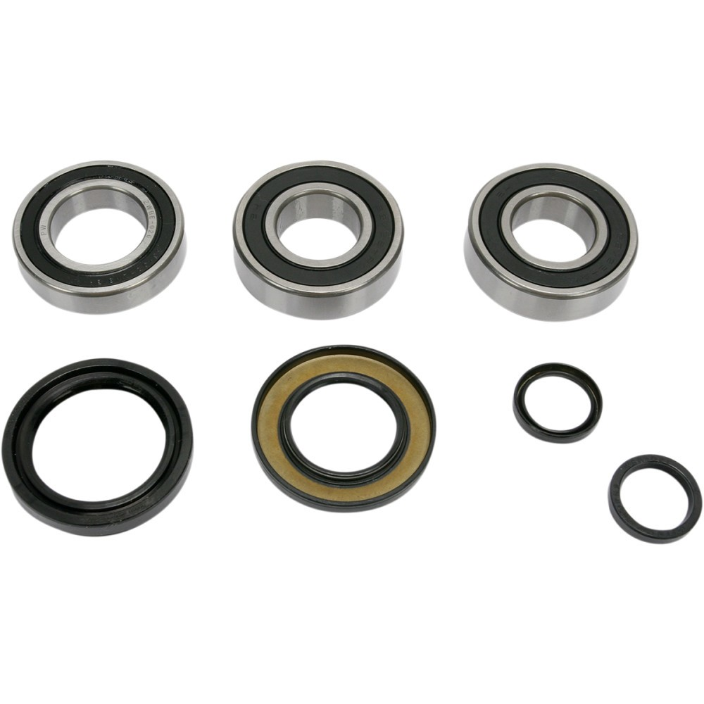 Pivot Works Wheel Bearing Kit - Double Seal - Rear - Honda