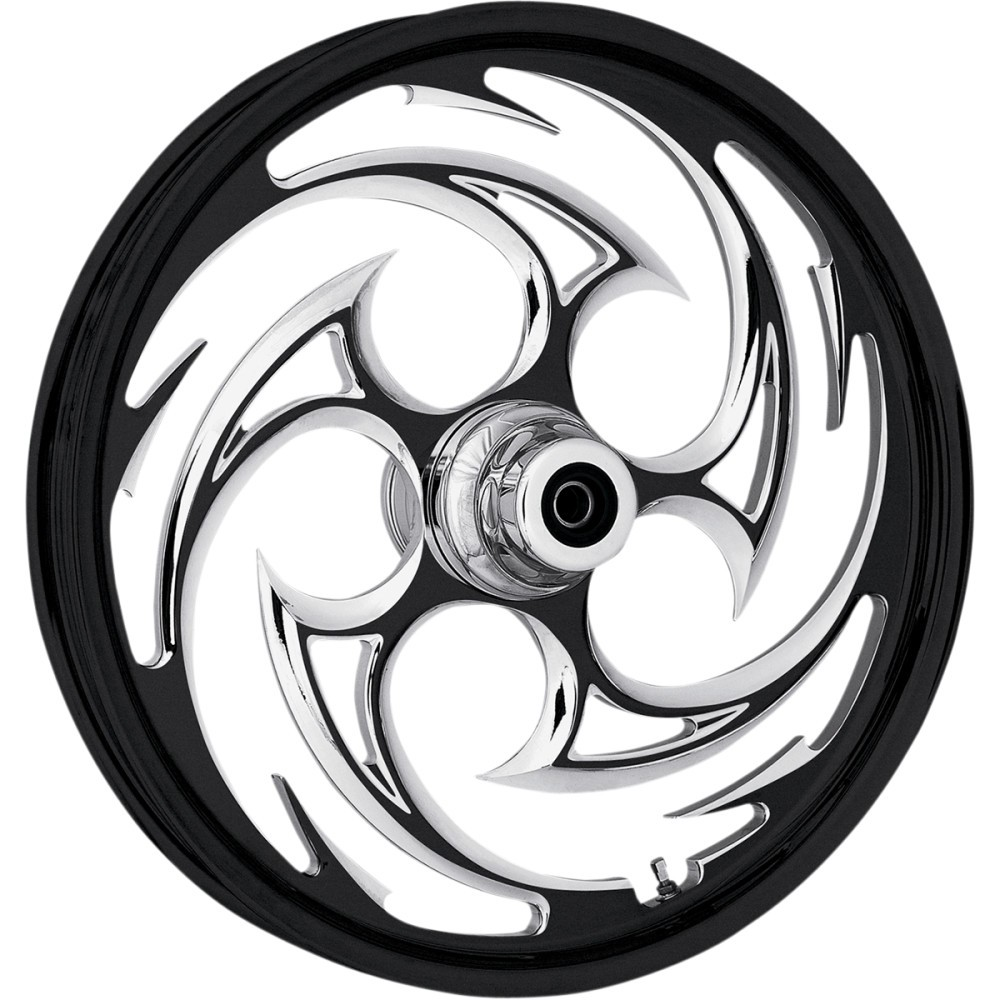 RC Components Front Wheel - Savage - Eclipse - Dual Disc - 21' x 3.5' - 00-07 FLT