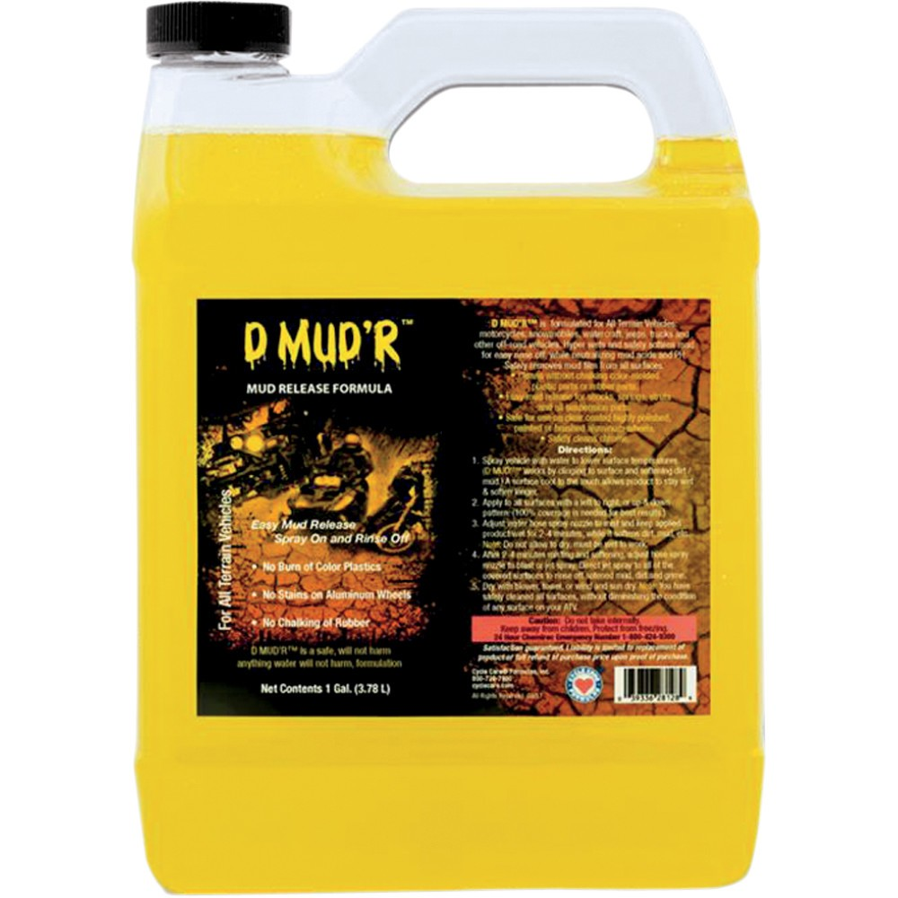 Cycle Care Formulas D MUD'R Cleaner - 1 US gal